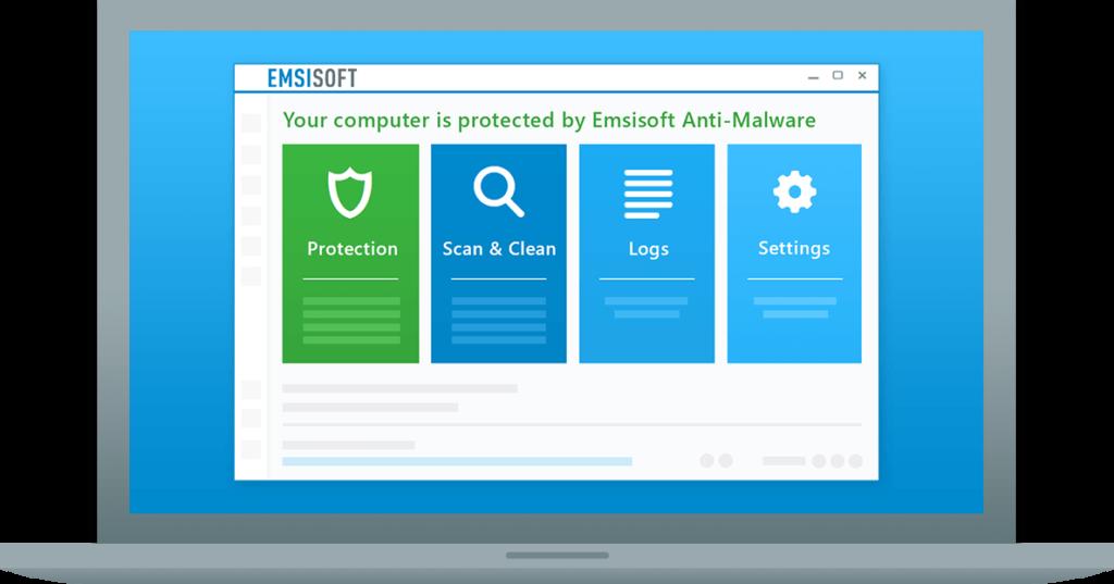 Emsisoft en Windows